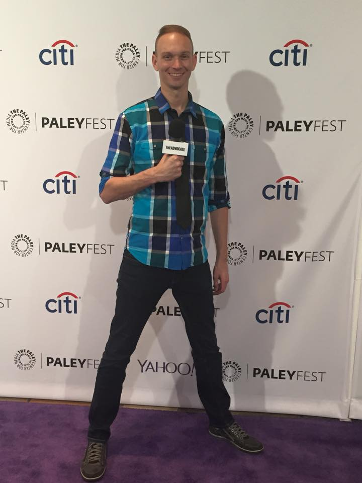 Coming to you live from the red carpet at PaleyFest LA.