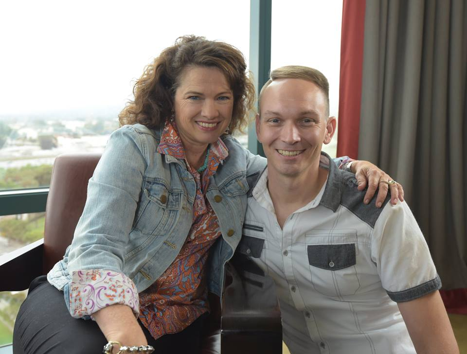 Can't stop smiling after an awesome interview with 'Nightmare on Elm Street' star Heather Langenkamp.