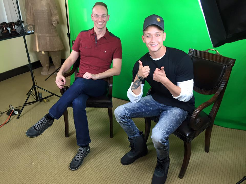 Ready to rock an episode of Advocate Spotlight with 'Teen Wolf' star Cody Saintgnue.